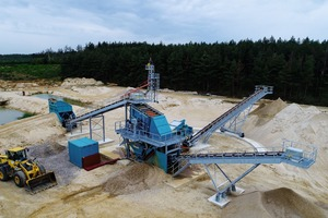 "<div class=""bildtext"">Clean Wash semi-mobile sand and gravel preparation </div>"
