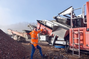 """<div class=""""bildtext"""">3 The compact impact crusher features magnetic separators and air classifiers. The removable screen deck significantly increases the range of applications</div>"""