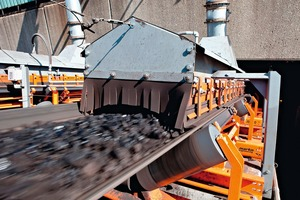 """<div class=""""bildtext"""">7 A properly configured conveyor minimizes emissions for improved safety and easier maintenance</div>"""