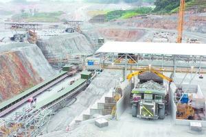 """<div class=""""bildtext"""">7 Gyratory crusher in a copper ore mine</div>"""