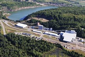 """<div class=""""bildtext"""">1 Located on the sight of an old ore processing mill, Humboldt Mill was retrofitted with the latest technology</div>"""
