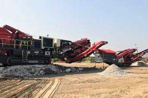 """<div class=""""bildtext"""">3 Since commissioning, the Sandvik crushing and screening combination has consistently worked at 250&nbsp;t/h</div>"""