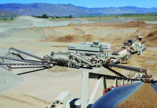Terex® MACS plant now offers the new MVP450X cone crusher