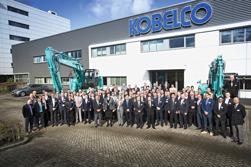 Kobelco Construction Machinery in Europe - Mineral Processing