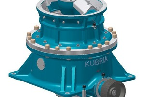 "<div class=""bildtext"">Kubria<sup>®</sup> F/M&nbsp;90 cone crusher supplied by ThyssenKrupp Industrial Solutions</div>"