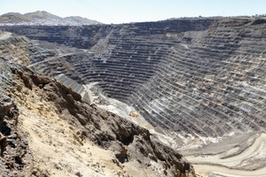 Polymetallic deposit Cerro de Pasco/Peru