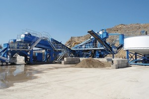 CDE-Recyclinganlage • CDE-Recycling plant