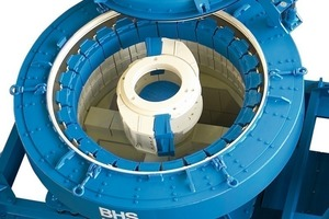 BHS principles of operation for sand production<br />	a Machine type with two centrifugal chambers<br />