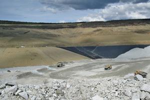 5 Fort Knox Haufenlaugungsprojekt in Alaska # Fort Knox heap leach project in Alaska<br />