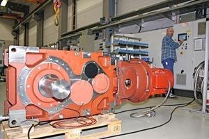 7 Getriebe auf dem Prüfstand • Gear on the test bench