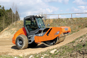 3 The H-series compactors from Hamm offer maximum compaction, excellent off-road mobility, comfortable conditions for the operator and advanced engine technology in line with EU IIIB / Tier 4i<br />