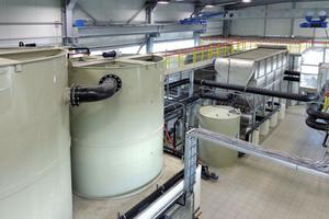 Die Anlage zur Behandlung des Grubenwassers aus der Kohleförderung • the plant for wastewater treatment of pit water from a coal mine