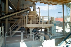 The Metso HP100 cone crusher at Trollius in operation for recrushing limestone and dolomite<br />
