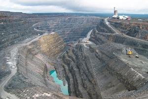 Largest open-pit copper mine in Europe: Aitik mine<br />