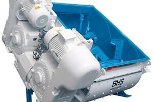 BHS twin-shaft batch mixer DKX 2,2<br />