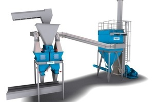 Filler removal and dedusting systems from one source<br />
