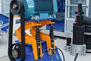 Riemenspanneinrichtung GEMEX # GEMEX belt tensioning system<br />