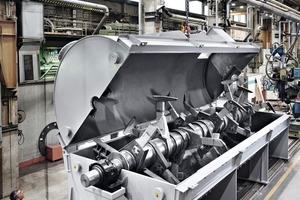 """<div class=""""bildtext"""">Der Intensivmischer KM 57.000 kommt in einem indischen Stahlwerk zum Einsatz •The mixer of type KM 57.000 will operate in a steelworks in India</div>"""