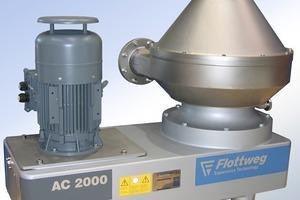 Flottweg-Separator AC 2000<br />