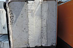 2 Betonfertigteil mit integrierter Wärmedämmung • Prefabricated concrete element with integrated thermal insulation<br />