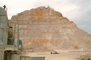 Limestone quarry in Austria