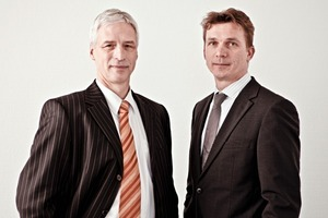 Marcus Heinrich (r.) and Dr. Uwe Habich (l.)