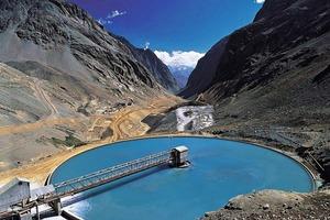 """<span class=""""bildunterschrift_hervorgehoben"""">16</span>Kupfererzaufbereitung bei El Teniente/Chile • Copper ore processing at El Teniente/Chile<br />"""