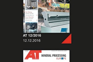 5 Issues of the AT MINERAL PROCESSING<br />