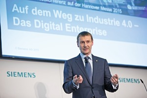 "<div class=""bildtext"">2 Klaus Helmrich zufolge treibt Siemens die Digitalisierung auch in der Prozessindustrie voran • According to Klaus Helmrich, Siemens also is driving forward digitalization in the process industries</div>"