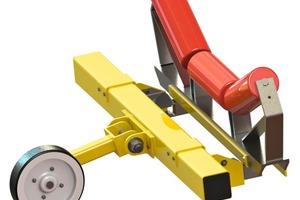 """<div class=""""bildtext"""">1 Das """"easy-weighing""""-Model ESW&nbsp;2 für geringe bis mittlere Förderleistungen bis max. 400&nbsp;t/h und Bandbreiten bis 800&nbsp;mm • The ESW&nbsp;2 """"easy-weighing"""" model for low to medium conveying rates to max. 400&nbsp;t/h and belt widths to 800&nbsp;mm</div>"""