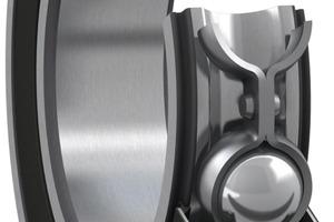 """<div class=""""bildtext"""">Axial-Rillenkugellager mit der Dichtung RSH • Deep groove ball bearing with RSH seal</div>"""