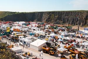 Ausstellungsfläche im Jahr 2010 • Exhibition area in 2010<br />
