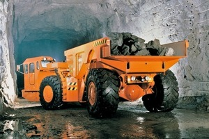 Wear-resistant steel from Ruukki used in underground mining<br />