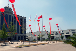The Metso acquisition was celebrated at Quzhou foundry headquarters, Zheijang / China
