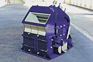 1 HAZEMAG Sekundärprallmühle HSI 1414 • HAZEMAG Secondary Impact Crusher HSI 1414<br />