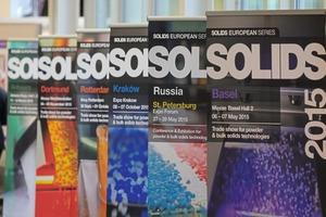 """<div class=""""bildtext"""">2 Mit Fachmessen in Antwerpen, Basel, Dortmund, Krakau, Rotterdam und Moskau lädt die SOLIDS European Series zu Europas größtem Schüttgut-Netzwerk ein</div>"""