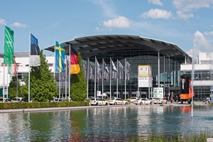 IFAT 2012 – Eingang West • IFAT 2012 – West entrance<br />