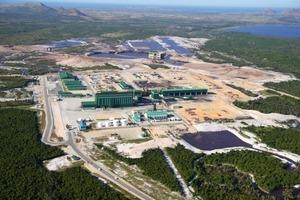 "<span class=""bildunterschrift_hervorgehoben"">11</span> Mineralsandaufbereitung bei QMM in Madagaskar (Rio Tinto)<br />"