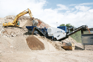 4 The versatile, mobile jaw crusher in the new EVO generation is ideal for the demands of contractors<br />