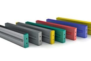 Die Schlagbalken von Magotteaux aus Verbundmaterials sind jetzt über das weltweite Vertriebsnetz von Metso verfügbar • The Magotteaux composite type blow bars are now available through Metso's world-wide sales network<br />