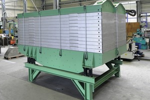 1 Mehrdecksiebmaschine Typ USM # USM multi-deck screen<br />