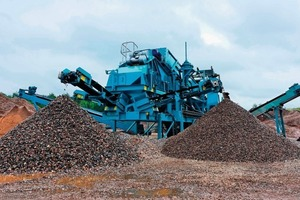 Powerscreen<sup>®</sup> Aggwash at the Elford quarry<br />