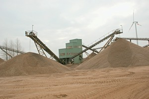 Gravel works in Willich<br />