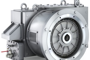 """<div class=""""bildtext"""">3 The compact structure of the Siemens H3SH helical gear units made possible a roll-shaft spacing of 850&nbsp;mm </div>"""