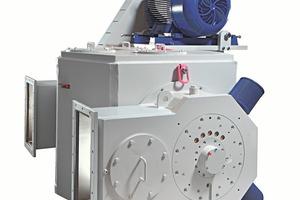 1 Sichterkopf des TTD 630 • Classifier head of the TTD 630<br />