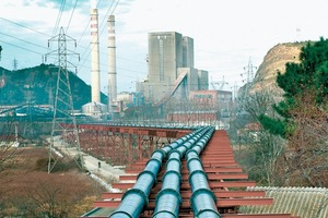 Pipeline lined with ABRESIST