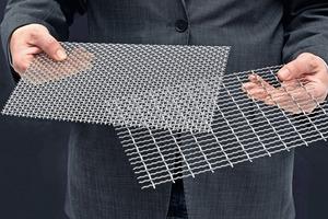 1 Industriesiebe für Siebmaschinen aller Art • Industrial wire screens for any kind of screening machines<br />