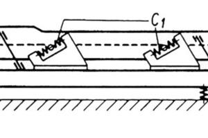 """<span class=""""bildunterschrift_hervorgehoben"""">5</span>Schema einer Resonanzschwingsiebmaschine mit elastisch gekoppeltem Antrieb<br />"""