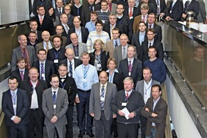 An der Veranstaltung nahmen wieder zahlreiche Vertreter aus Wissenschaft, Grundstoff- und Zulieferindustrie teil • Again many representatives from research, the basic industry and the supplier industry participated in the event<br />