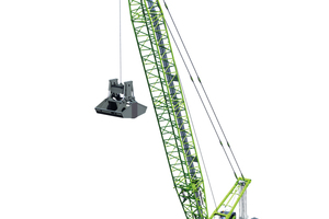 "<div class=""bildtext"">The first of the new SENNEBOGEN 300&nbsp;t duty cycle crawler cranes is currently in production in Straubing and is sparking interest in its first deployment</div>"